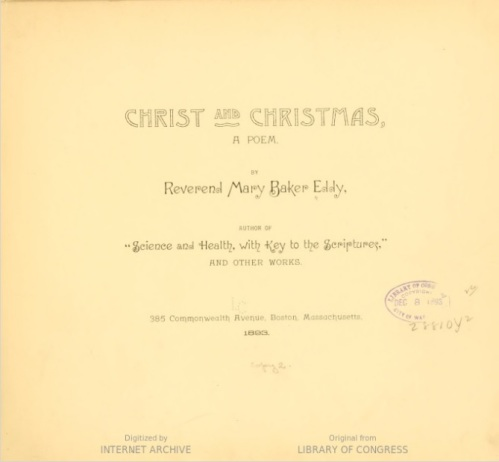 First Ed. CC Title Page